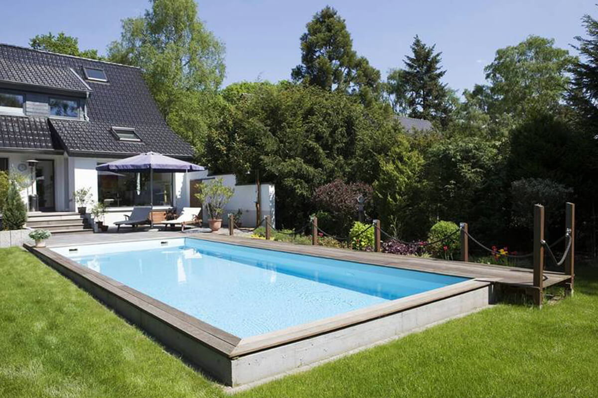 schwimmbad kaufen trendy intex ultra framepool quadra x x